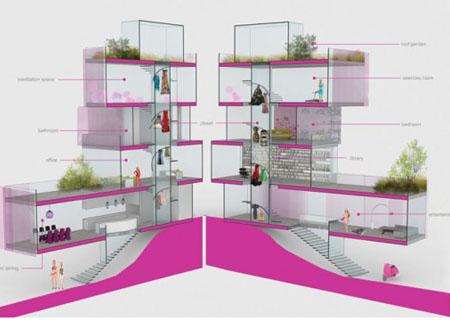 Barbie vivr in una casa ecologica la bionda in miniatura - Architetto per ristrutturazione casa ...