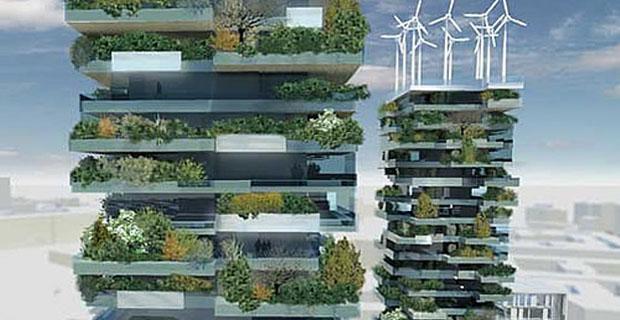Giardino d 39 autore il bosco verticale di milano for I nuovi grattacieli di milano