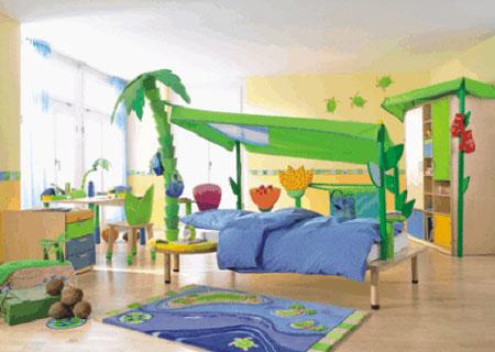 Mobili tessuti e consigli per camerette eco per bambini - Mobili per bambini design ...