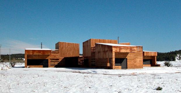 L architettura contemporanea incontra il sapere popolare for Architettura contemporanea barcellona