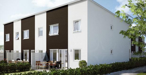 Boklok vivere bene il progetto prefabbricato a basso costo - Costo progetto casa ...