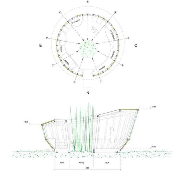La casa ecologica fatta di pannocchie for Case di architettura e design