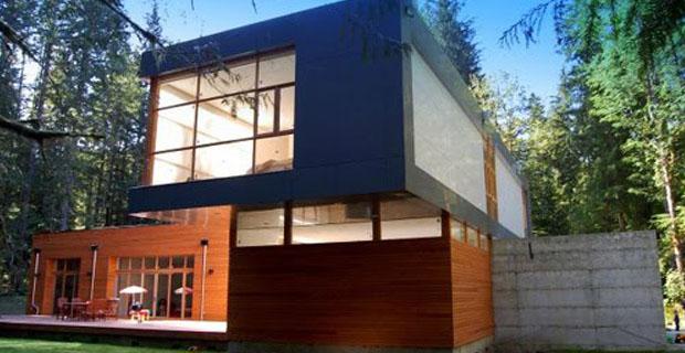 Case prefabbricate in legno su misura sostenibili evolute for Modelli case moderne