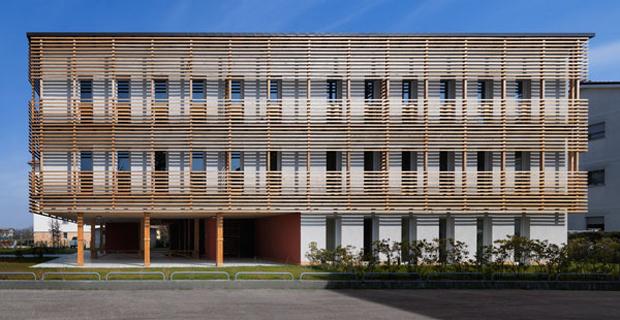 Social housing quartieri e grattacieli le strutture in for Piani di uffici di garage