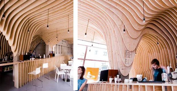 Rivestimento In Legno Pareti Interne : Interni in legno