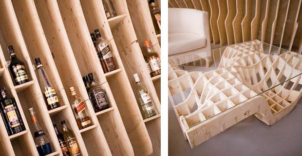 Pareti Interne In Legno : Interni in legno
