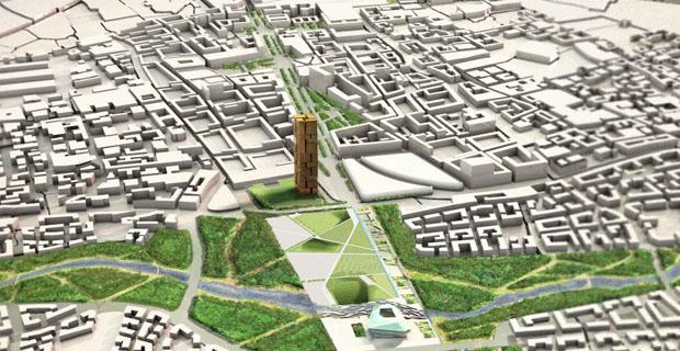 Nuovo masterplan per tirana occasione unica di for Master architettura
