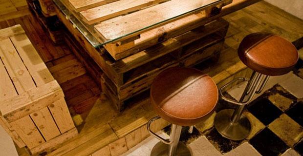 Come ti trasformo il bancale in una cucina ecosostenibile