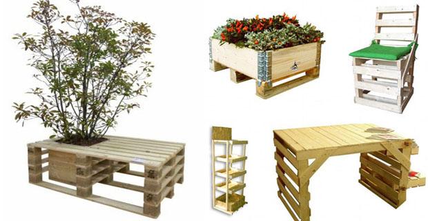Riciclare i pallet per l arredamento e le strutture for Arredamento da giardino con bancali