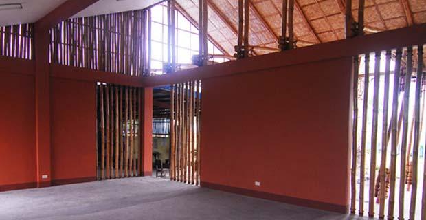 Disaster design a basso costo una scuola in bamb che for Design a basso costo