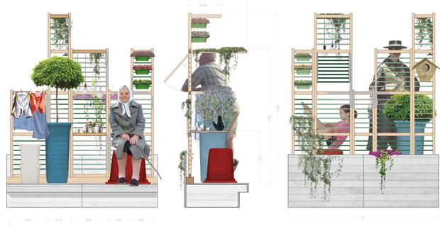 Idee utili per un giardino verticale in balcone: Tunegreen
