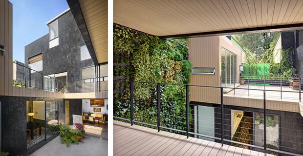Case giardino come isole verdi l abitazione cormanca construction21 - Giardino interno casa ...
