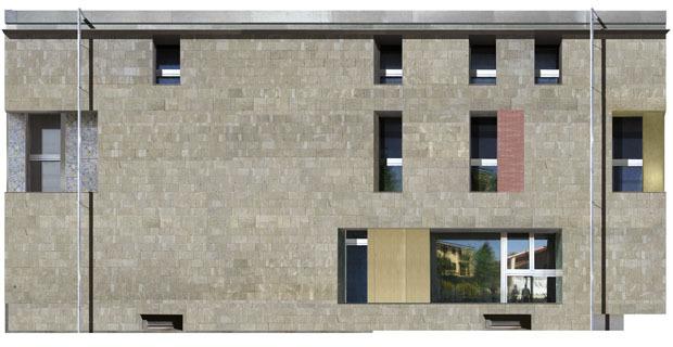Il ruolo della pietra locale in una riqualificazione for Costo della costruzione di una casa in pietra