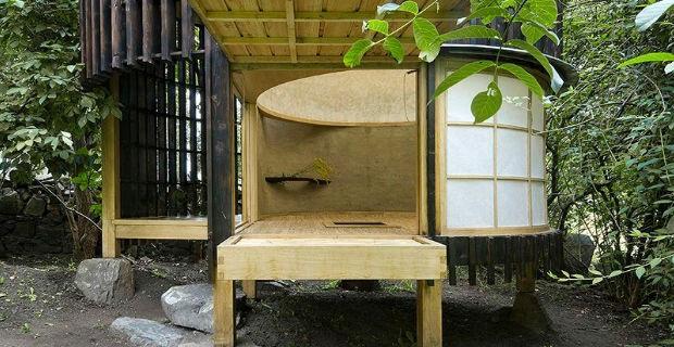La tradizione costruttiva giapponese in un edificio for Architettura tradizionale giapponese