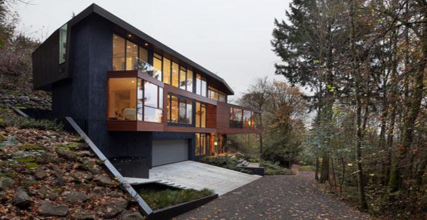 La casa di twilight una costruzione verde dal design for Progetti di costruzione di case