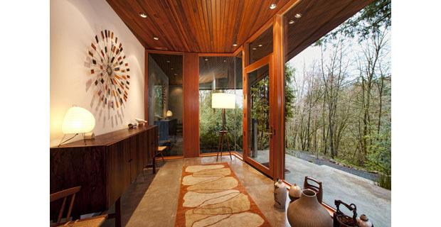 La casa di twilight una costruzione verde dal design for Materiali da costruzione della casa
