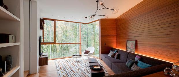 La casa di twilight: una costruzione verde dal design accattivante