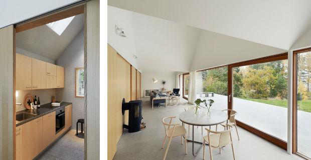 Una casa per le vacanze tra il bosco e il mare il - Isolare parete interna a nord ...