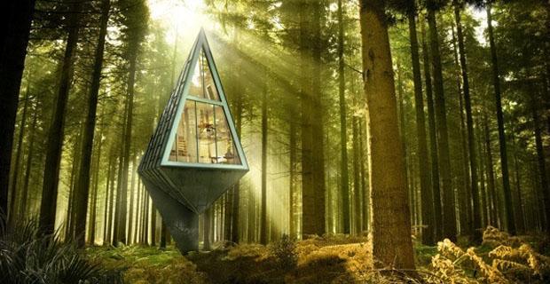 Vivere tra le nuvole le 3 case sull albero pi belle del mondo - Casa sull albero progetto ...