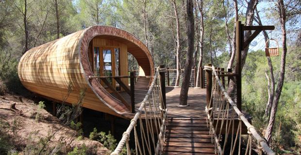 Vivere tra le nuvole le 3 case sull albero pi belle del - Le piu belle case prefabbricate in legno ...