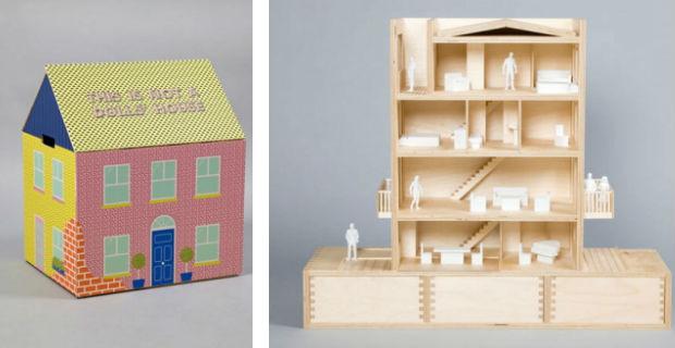 Dolls House fai da te = finestra in plastica