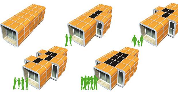 Case temporanee la sostenibilit degli alloggi provvisori for Architettura case