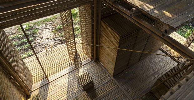 Come costruire una casa in bamb in 25 giorni con 2500 dollari for Costruire casa risparmiando