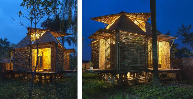 Come costruire una casa in bamb in 25 giorni con 2500 dollari - Costo costruire casa ...