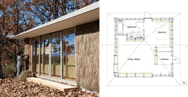 Costruire in fieno e seguirne i cicli naturali per vivere bene for Costruire case