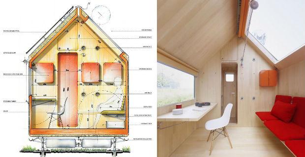 Diogene la mini abitazione sostenibile firmata renzo piano for Where to put a piano in a small house