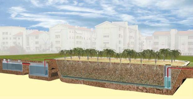 Fitodepurazione come trattare e recuperare le acque di scarico con sistemi naturali - Sistema di aerazione per casa ...