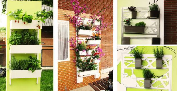 Giardini artistici low cost con il riciclo creativo - Mobili da giardino low cost ...