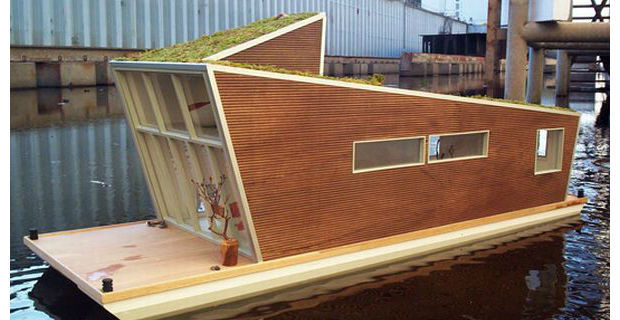 L Arredamento Fai Da Te : La casa che galleggia sull acqua il debutto dell houseboat