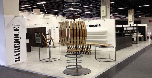 Dal legno delle barrique un progetto di design ed for Botti usate per arredamento