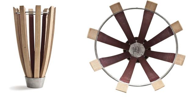 Dal legno delle barrique, un progetto di design ed integrazione sociale