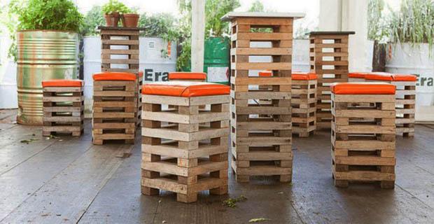 Come creare un orto e una panca per esterni con i pallet for Icona arredamenti