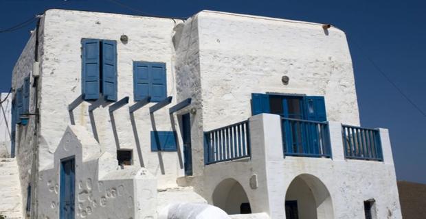 Come scegliere il colore in architettura interni esterni e pitture ecologiche - Colore esterno casa bianco ...