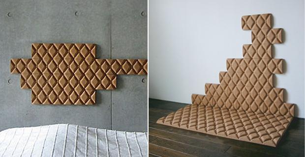 Superfici di sughero per un architettura silenziosa - Pannelli decorativi fonoassorbenti ...