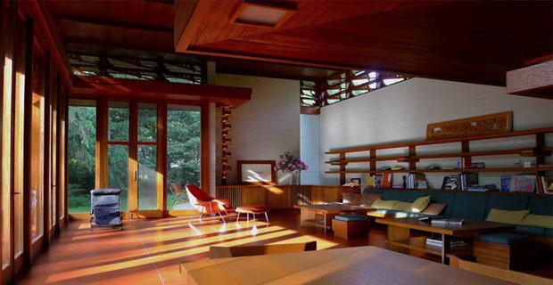 La bachman wilson house di frank lloyd wright presto in for Architettura wright