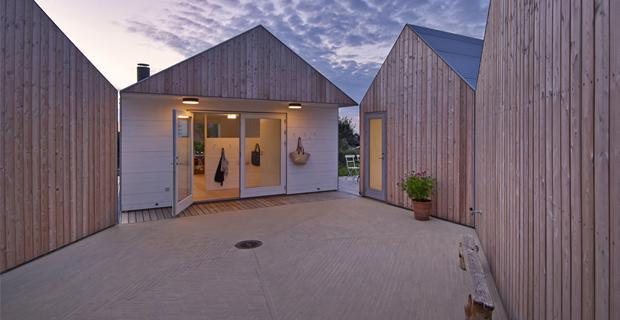 5 piccole case per proteggersi dai freddi venti del nord