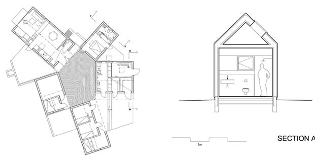 5 piccole case per proteggersi dai freddi venti del nord for Piccole planimetrie a concetto aperto