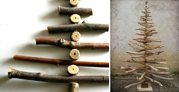 Idee Per Un Albero Di Natale Fai Da Te : Idee per un albero di natale fai da te