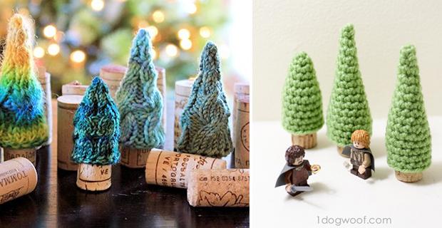 Alberi Di Natale Da Parete : Idee per un albero di natale fai da te