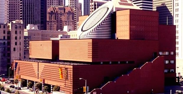 caption:Mario Botta, Museum of Modern Art, San Francisco