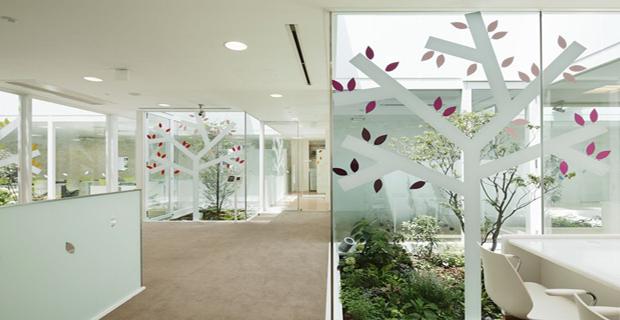 Architettura per le banche progetti di edifici innovativi - Alberi da interno ...