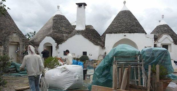 Calce di canapa per l edilizia i trulli pugliesi si ristrutturano