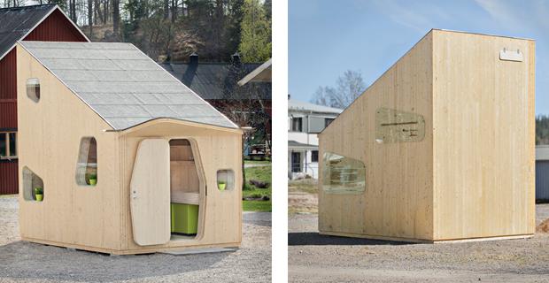 La vita in 10 mq le case in legno per studenti for Casa ecosostenibile prefabbricata