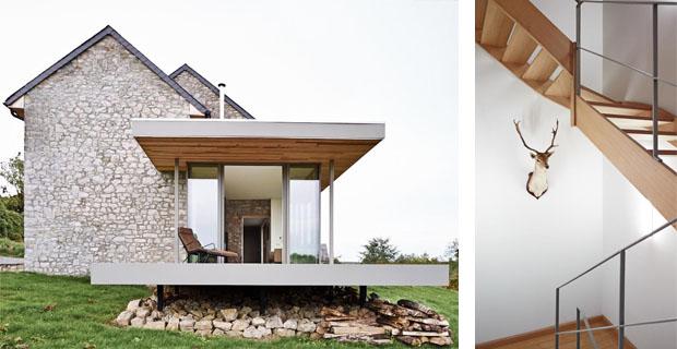 Case per le vacanze tra innovazione e tradizione for Case in pietra e legno