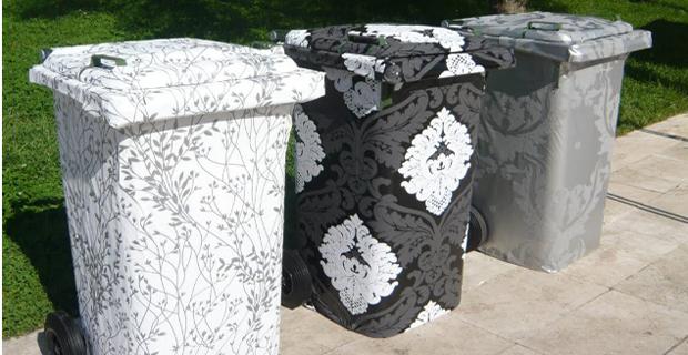 L'eco design dei cassonetti. A Roma sono opere d'arte