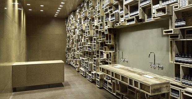 La progettazione eco di esercizi commerciali lo store for Negozi design